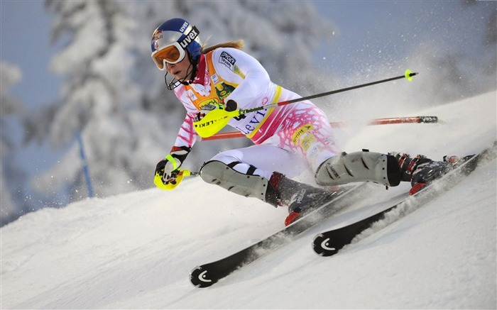 sports lindsey vonn skiing-Sports HD Widescreen Wallpaper Views:6577 Date:6/23/2013 11:43:45 AM