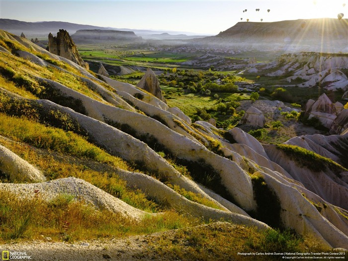 sunrise in Cappadocia-National Geographic wallpaper Views:4465