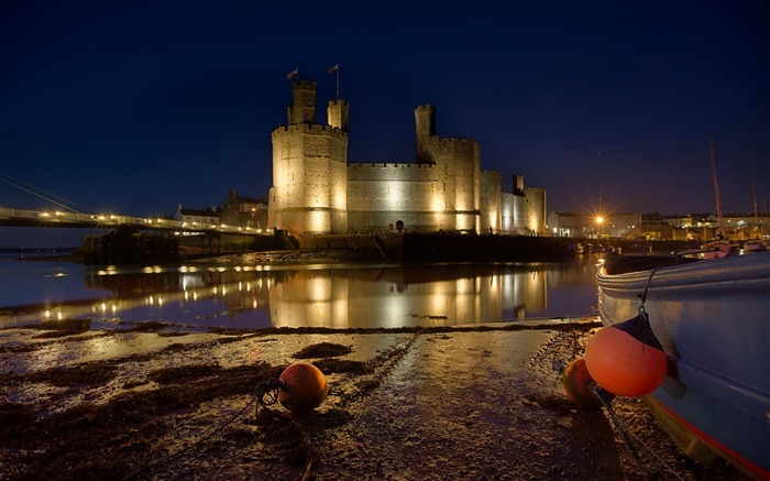 united kingdom wales caernarfon-Photography HD wallpaper Views:4029 Date:6/20/2013 10:15:42 PM