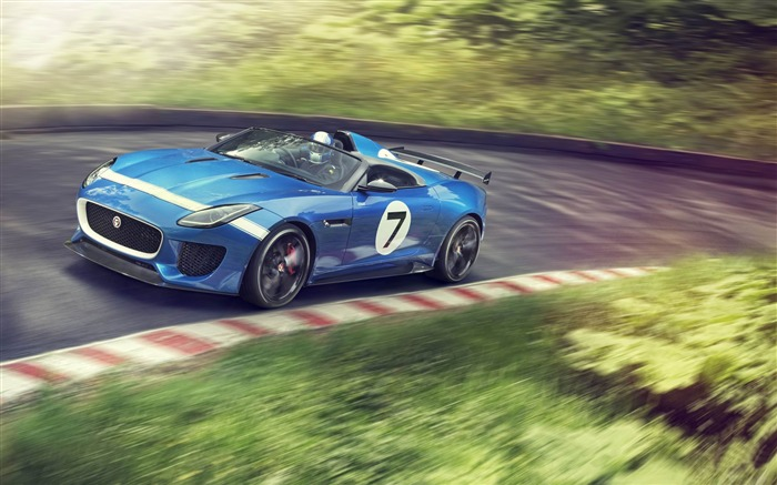 2013 Jaguar Project 7 Concept Cars Fondo de escritorio HD Vistas:9593