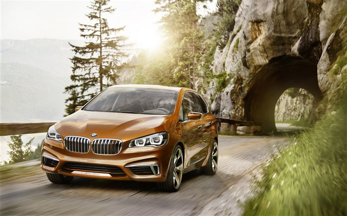 BMW Active Tourer Outdoor Concept Auto HD Wallpaper Views:6581