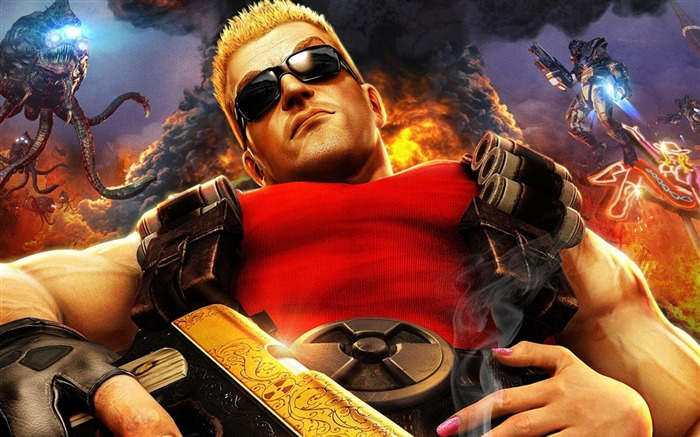 Duke Nukem forever character-2013 Game HD Wallpaper Views:3328