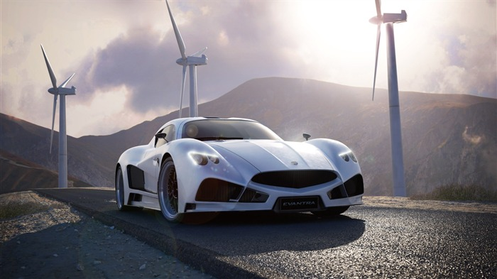 Mazzanti Evantra V8 Supercar HD Wallpaper Views:12057