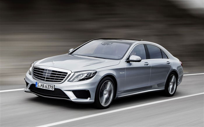 Mercedes-Benz S63 AMG Cars HD Wallpaper Views:13392