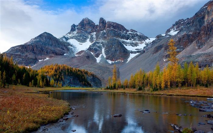 Mount Assiniboine Park Landscape HD wallpaper Views:7518