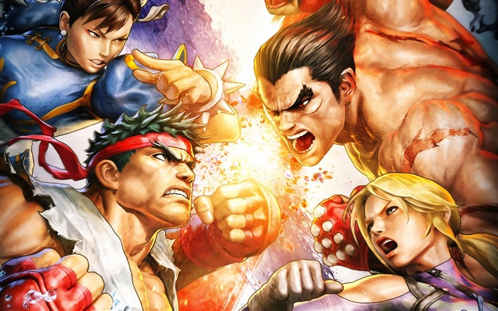 Street Fighter X Tekken video game wallpaper Views:13608