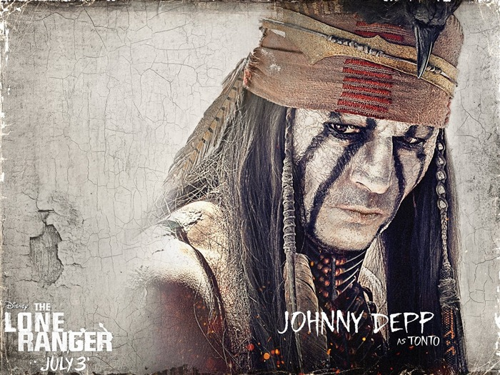 TONTO-The Lone Ranger Movie HD Wallpaper Views:5040 Date:7/19/2013 9:49:37 AM