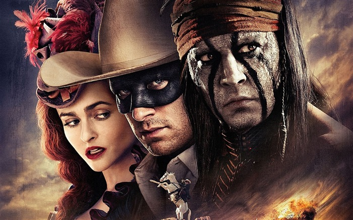 The Lone Ranger Movie HD Desktop Wallpaper Views:7761