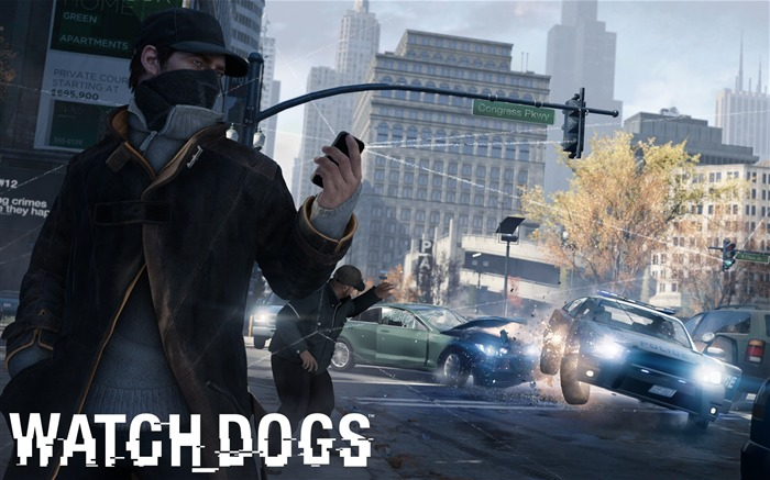 Watch Dogs 2013 Game HD Desktop Wallpaper 01 Views:3380