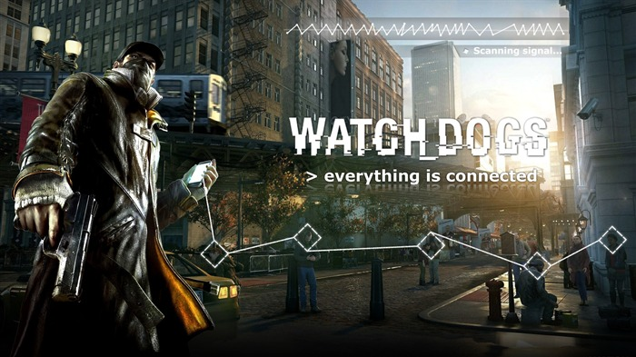 Watch Dogs 2013 Game HD Desktop Wallpaper 12 Views:2355