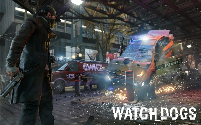 Watch Dogs 2013 Game HD Desktop Wallpaper 19 Views:1612