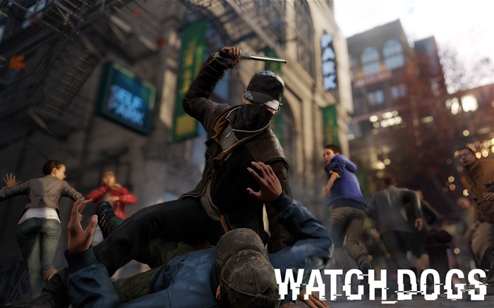 Watch Dogs 2013 Game HD Desktop Wallpaper Views:7456