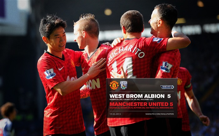 FA Premier League Manchester United 2012-13 season Wallpaper Views:8037