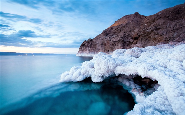 Wonderful views Dead Sea and Salt Lake wallpaper Views:8823