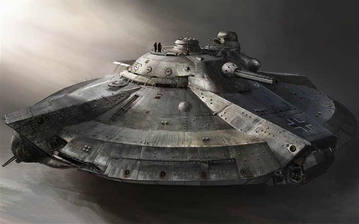 armored flying ship-Military Widescreen Wallpaper Views:5981