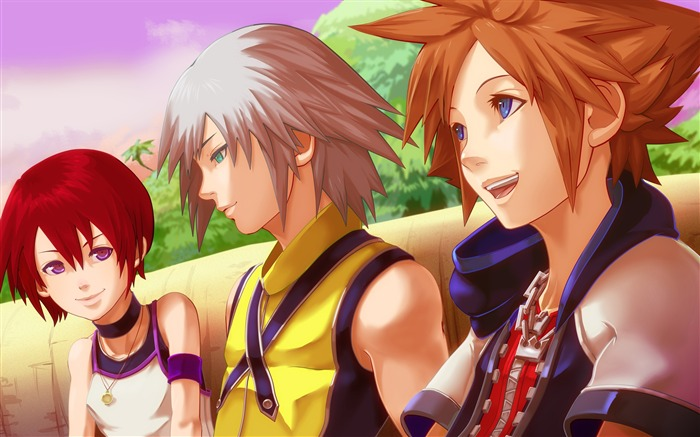 kingdom hearts-Anime HD Wallpaper Views:5327