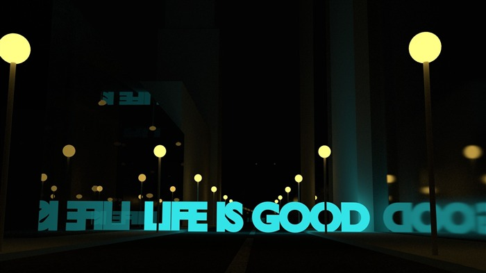 life is good-Abstract design HD wallpaper Views:3888 Date:7/13/2013 12:34:27 PM