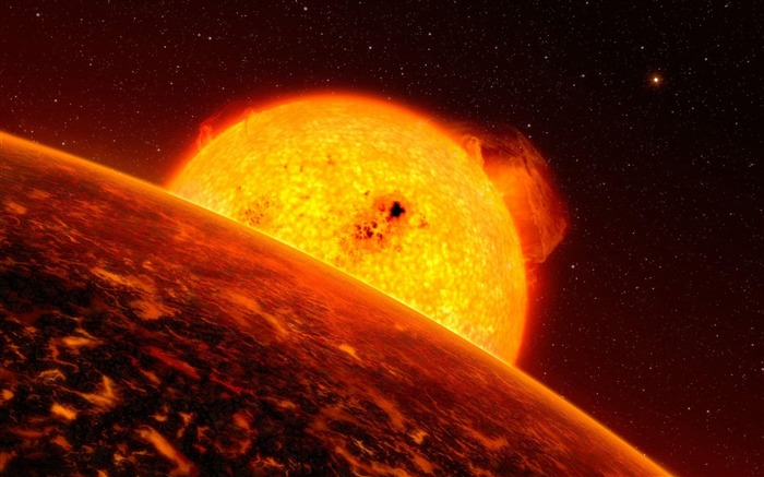 sun star flash planet glowing space-Space HD Wallpaper Views:3969