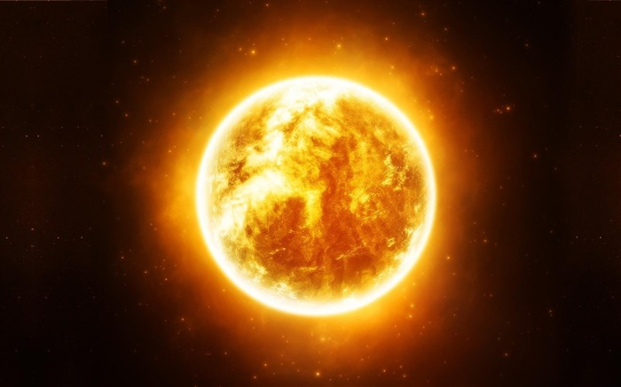 sun stars-Space Discovery HD Wallpaper Views:2575