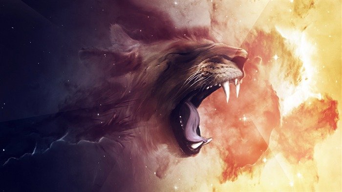 tiger-Abstract design HD wallpaper Views:4060 Date:7/13/2013 12:38:43 PM