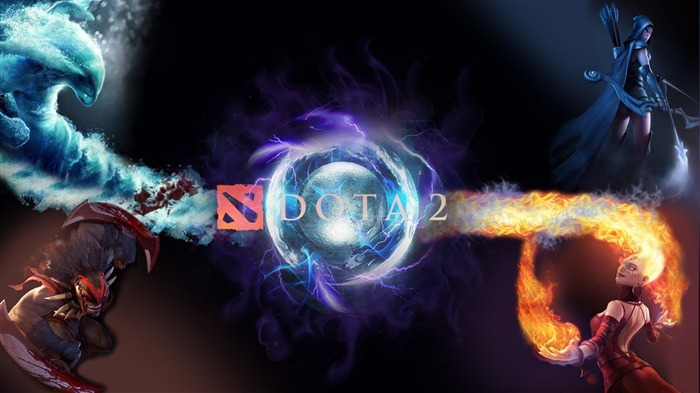 DOTA 2 Game HD desktop wallpaper Views:6030