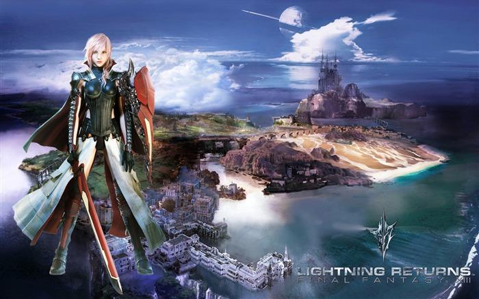 LIGHTNING RETURNS FINAL FANTASY XIII Game HD Wallpaper 03 Views5192