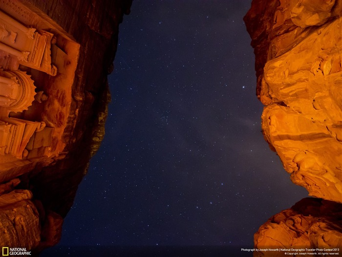Petra by Candlelight-National Geographic Wallpaper Views:4007