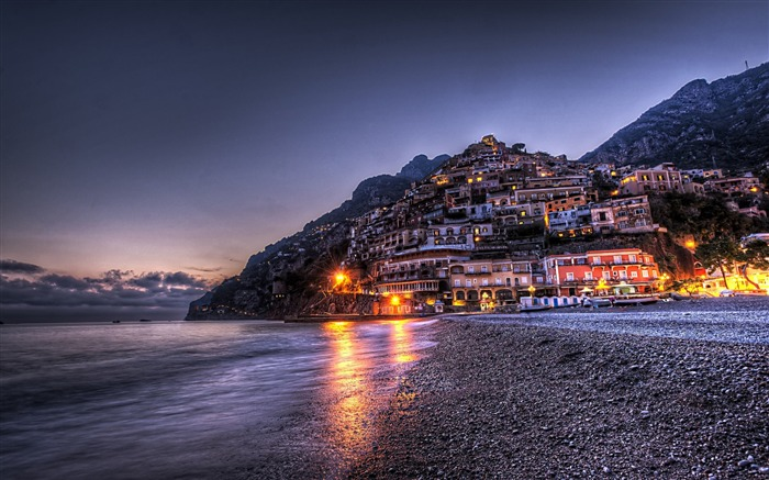 Positano waterfront landscape photos wallpaper Views:8201