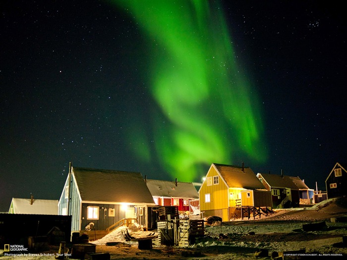 Qasigiannguit Greenland-National Geographic photo wallpaper Views:5368 Date:8/21/2013 9:17:04 AM