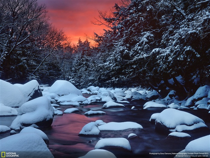 Snowy River Sunrise-National Geographic Wallpaper Views:3439