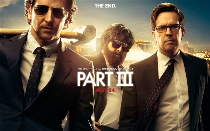 The Hangover Part III Movie HD Desktop Wallpaper Views:4410