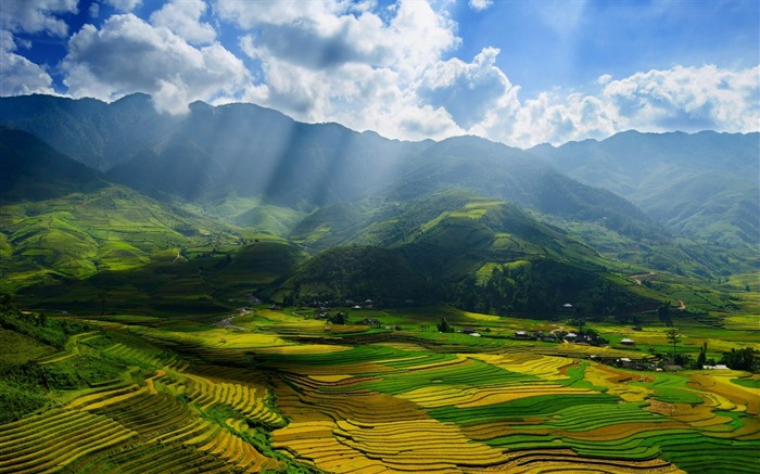 yen bai province vietnam-landscape HD Wallpaper Views:2229