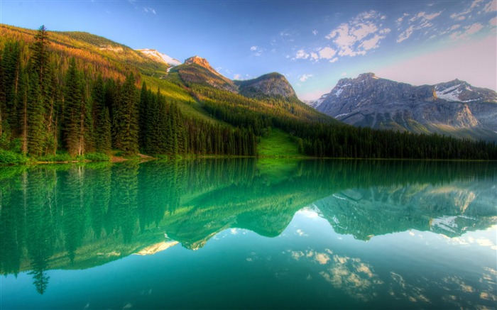 yoho lake canada-landscape HD Wallpaper Views:3658