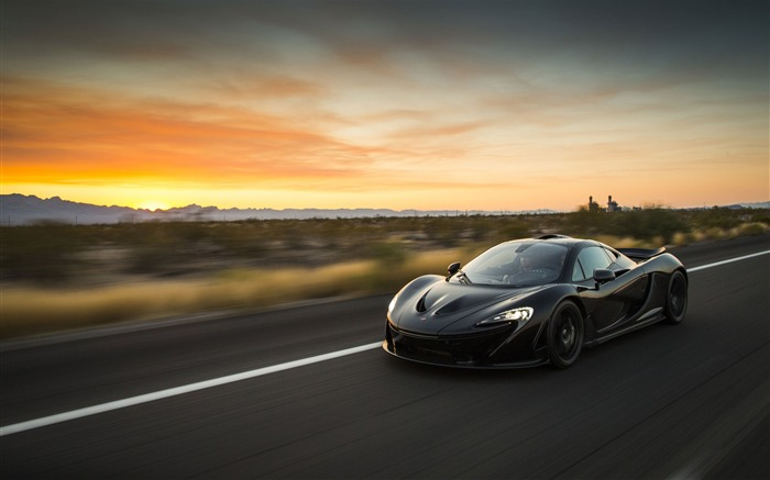 2014 McLaren P1 Car HD Desktop Wallpaper Views:17937