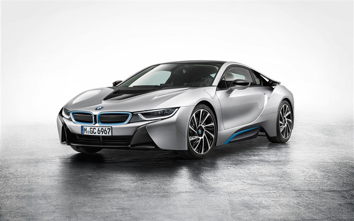 2015 BMW i8 Car HD Desktop Wallpaper Views:15349