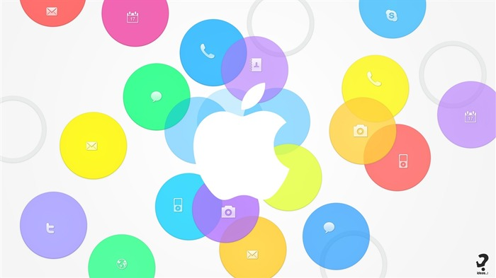 Apple iOS 7 iPhone 5S HD Desktop Wallpaper 29 Views:1470