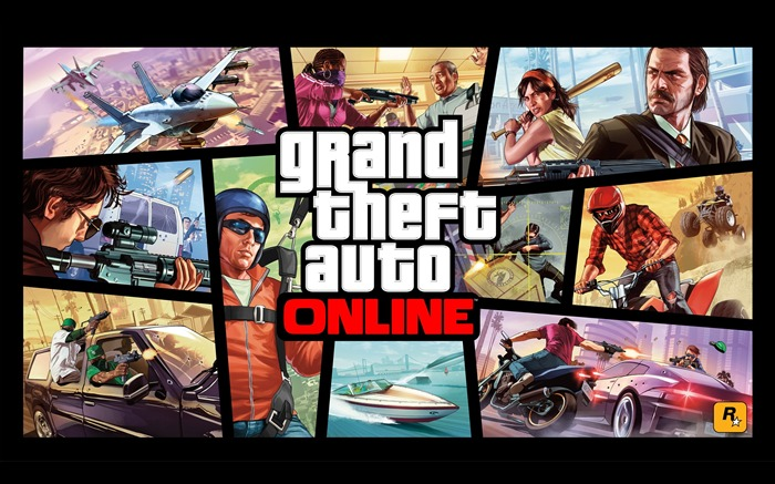 Grand Theft Auto V GTA 5 Game HD Wallpaper Views:21177