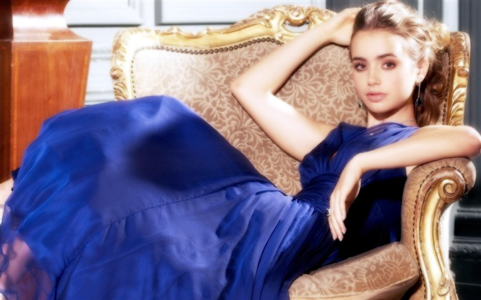 Lily Collins beauty photo HD wallpaper 08 Views:5198 Date:9/15/2013 12:55:35 PM