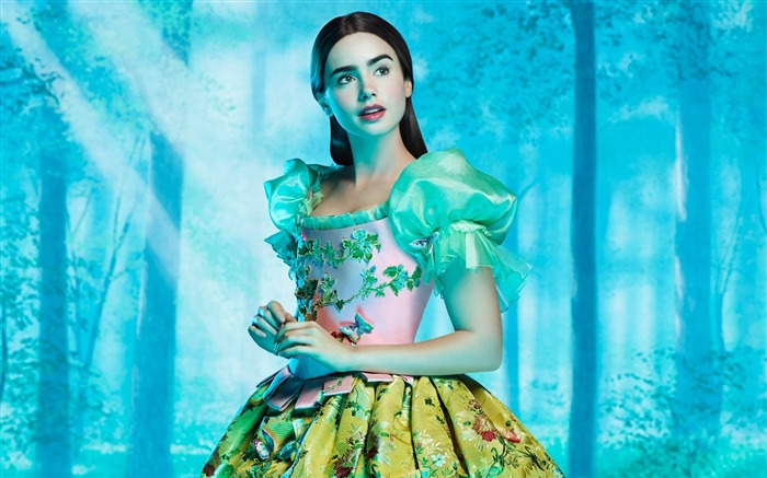 Lily Collins beauty photo HD wallpaper 14 Views:4890 Date:9/15/2013 12:58:33 PM