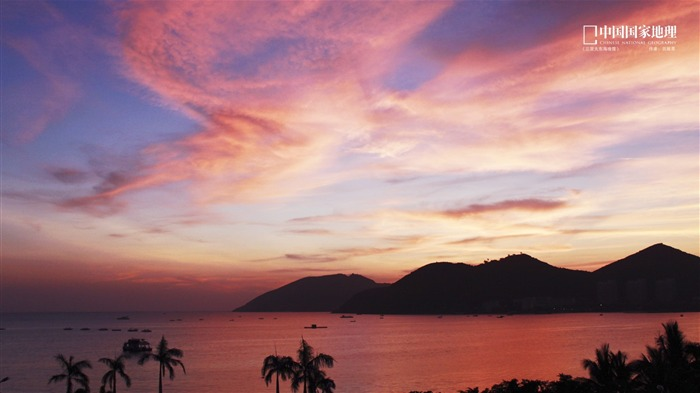 Sanya dadonghai sunset-China National Geographic wallpapers Views:4469 Date:9/17/2013 10:15:19 PM