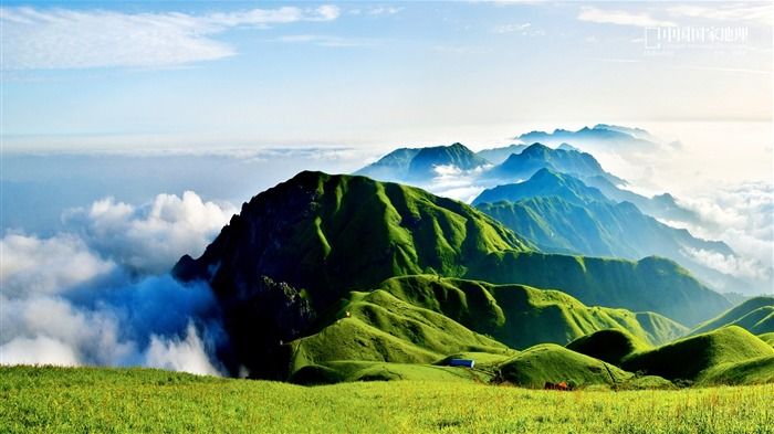 Wugongshan scenery-China National Geographic wallpaper Views:4673 Date:9/17/2013 11:04:41 PM