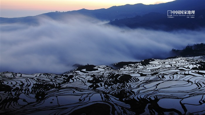 Yuanyang Terrace-China National Geographic wallpaper Views:3545 Date:9/17/2013 10:27:38 PM