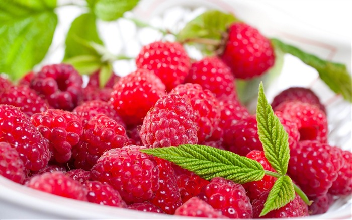 raspberry berry delicious-Food HD Wallpaper Views:4015