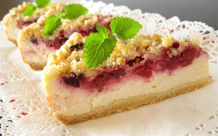 sweet pastry cake delicious-Food HD Wallpaper Views:7164