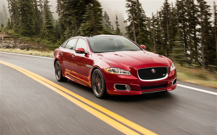 2014 Jaguar XJR Long Wheelbase Car HD Wallpaper Views:15562