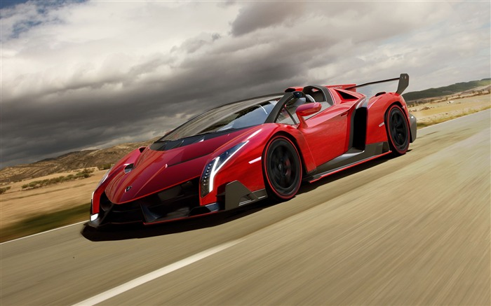 2014 Lamborghini Veneno Roadster HD Wallpaper Views:8767