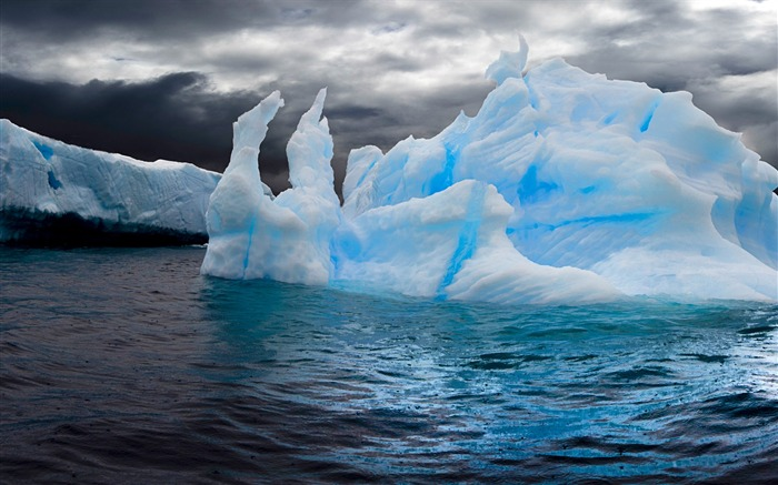 Antarctic ice-Windows Nature Wallpaper Views:7196