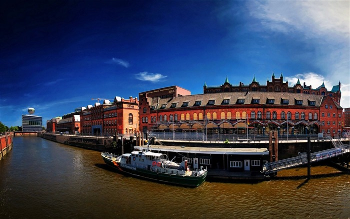 Germany Hamburg City Scenery Wallpaper Views:8617