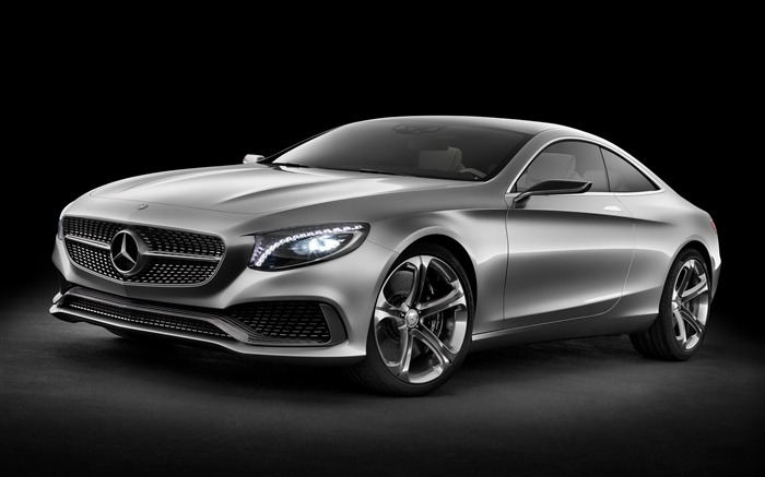 Mercedes-Benz S Class Coupe Concept 2013 Auto HD Wallpaper Views:10135