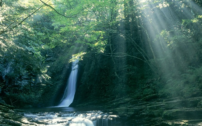 Mie Prefecture Japan Falls-Windows Nature Wallpaper Views:4791